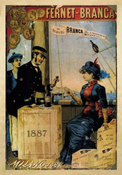 1887 comunicazione fernet-branca